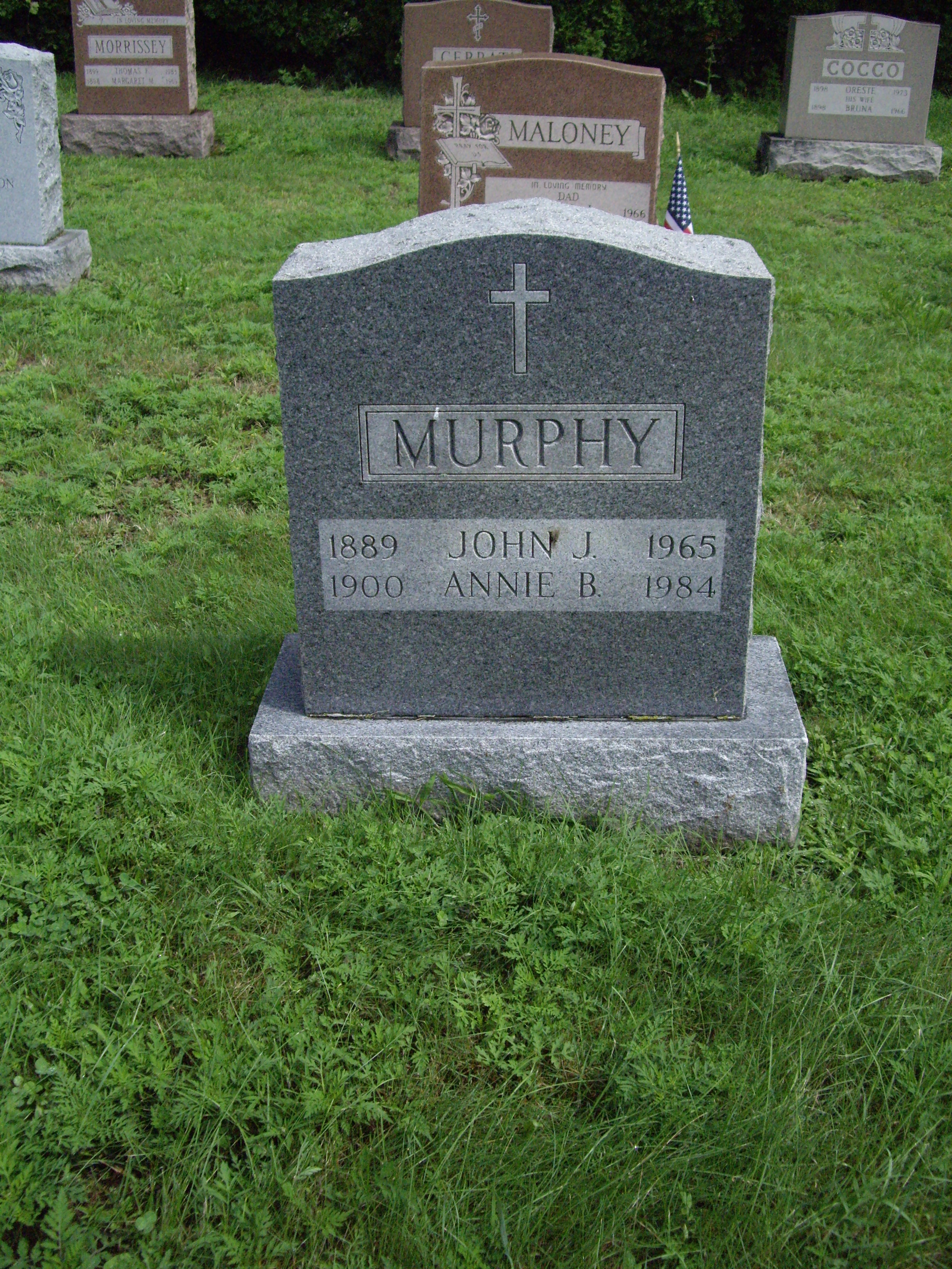 Murphy, John Joseph, Annie Bridget