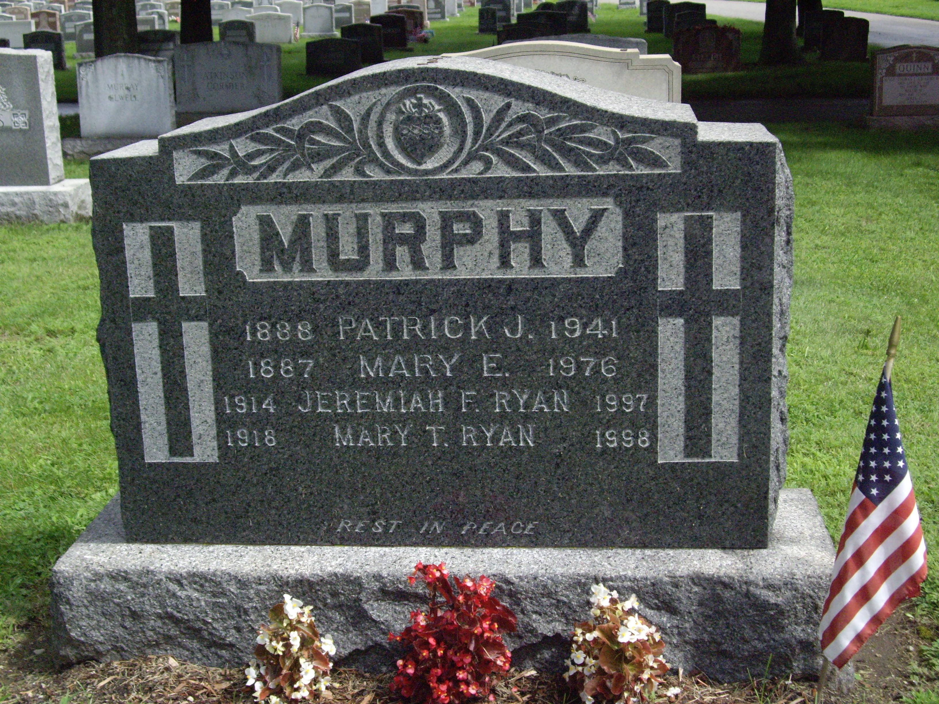 Patrick Murphy, Mary Murphy and